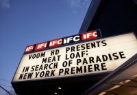 Marquee at the IFC Theater.
